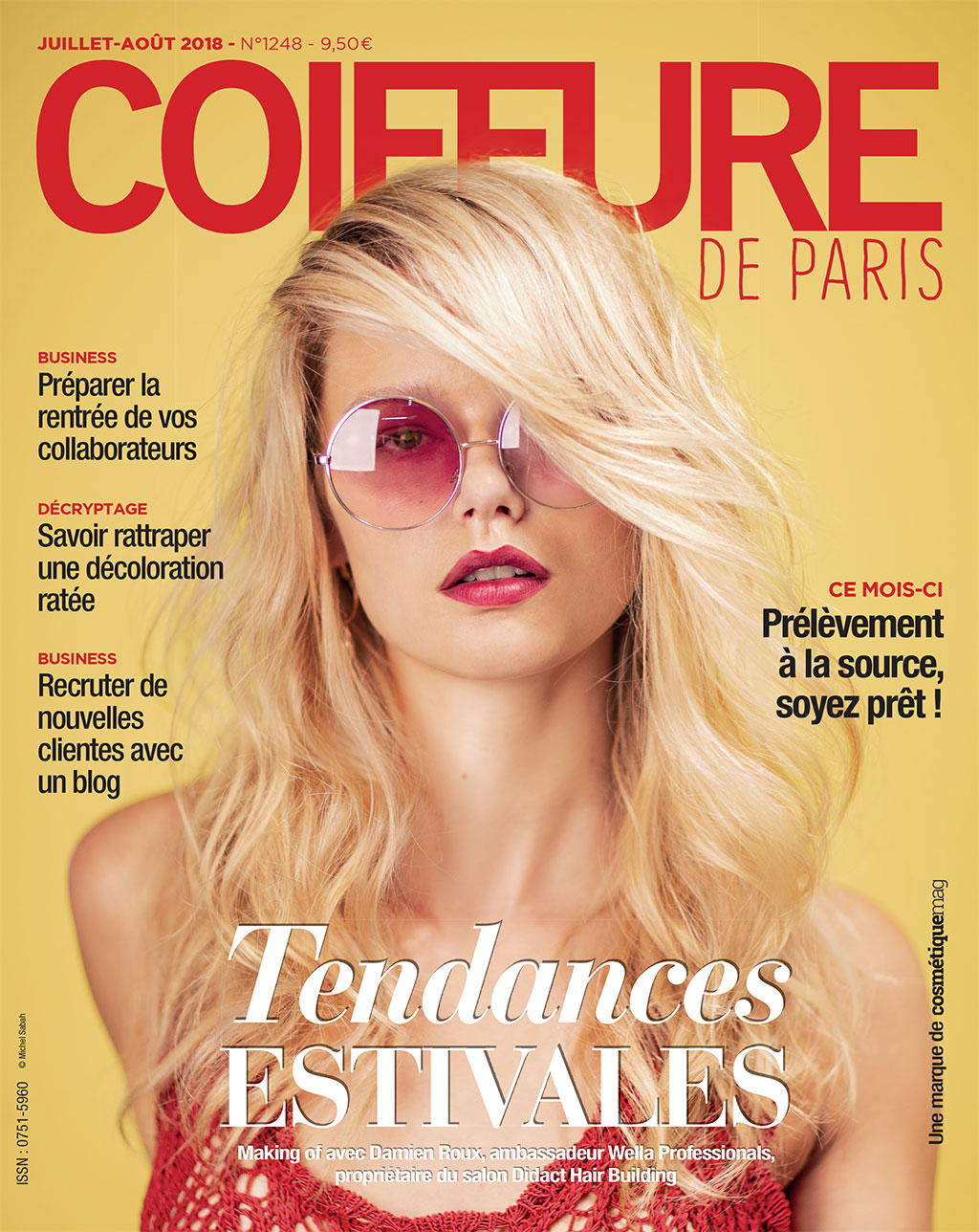 coiffure de paris le magazine r f rence des professionnels de la coiffure. Black Bedroom Furniture Sets. Home Design Ideas